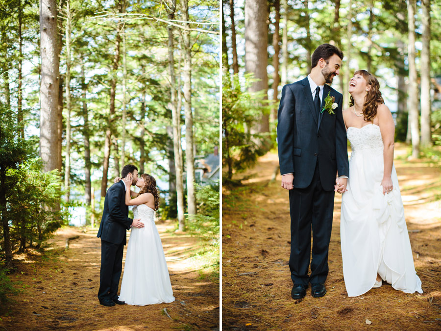 Ripley & Tim's lovely lake house wedding in new hampshire on newfound lake - wedding photography (43)