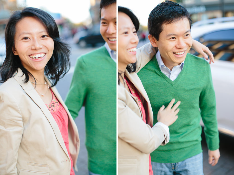 Ting & Dan's Beautiful engagement photography at harvard university and Charles river in Cambridge- Boston wedding photographers (8)