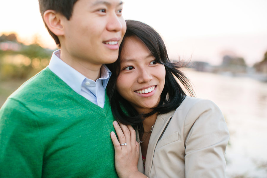 Ting & Dan's Beautiful engagement photography at harvard university and Charles river in Cambridge- Boston wedding photographers (1)