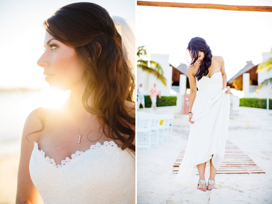 candid moments of beautiful brides