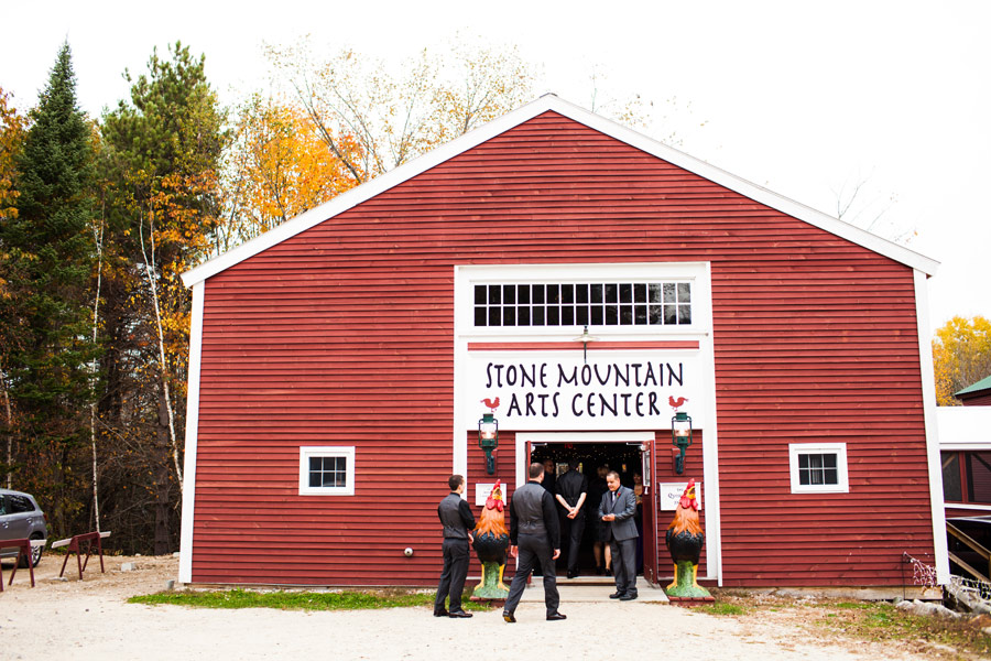 Maine wedding photographers - Rustic barn wedding at the stone mountain arts center (20)