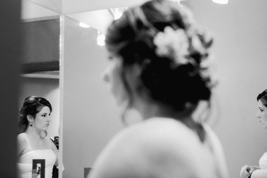 New hampshire wedding photographers - granite rose wedding at night  - bride getting ready