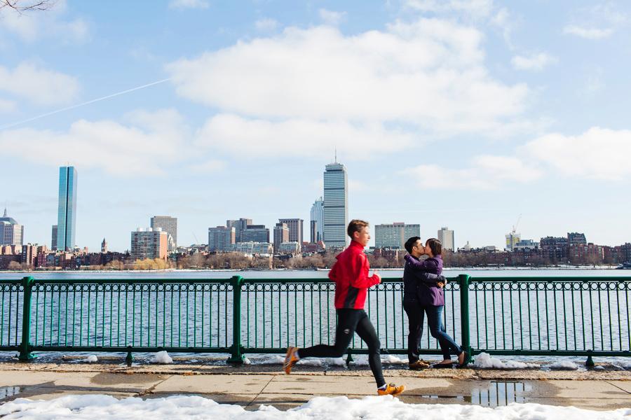 Boston portrait and lifestyle engagement photographer