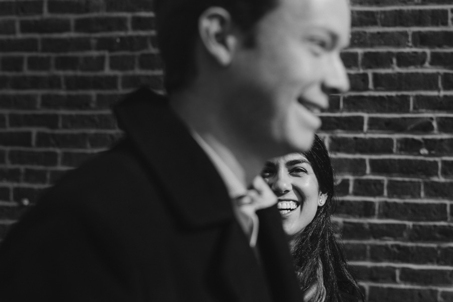 creative Boston north end engagement photography