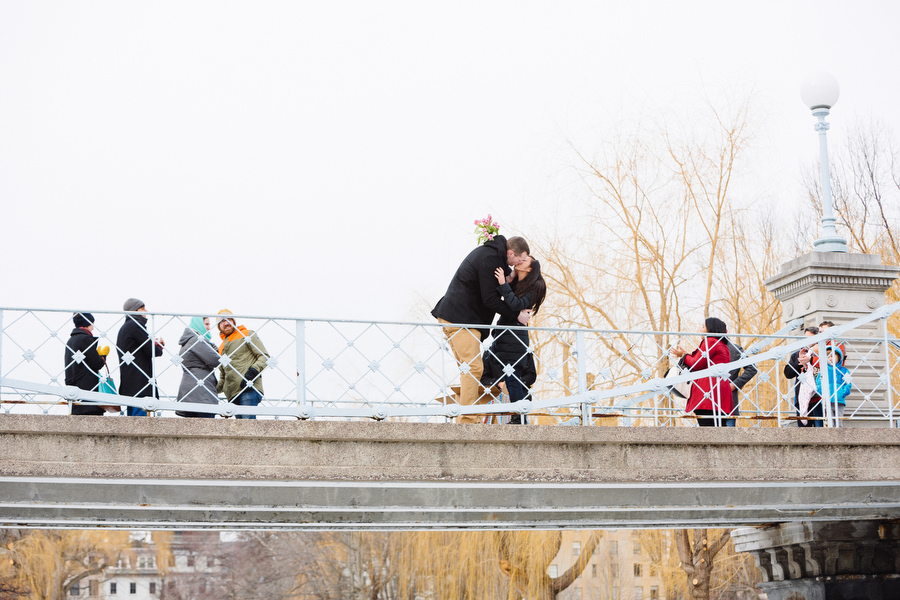 Boston public gardens proposal she said yes (11)