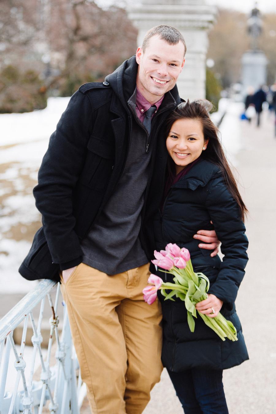 Boston public gardens proposal she said yes (13)