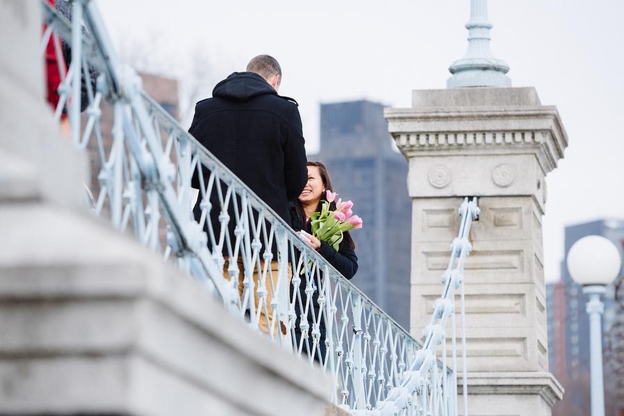 Boston public gardens proposal she said yes (7)