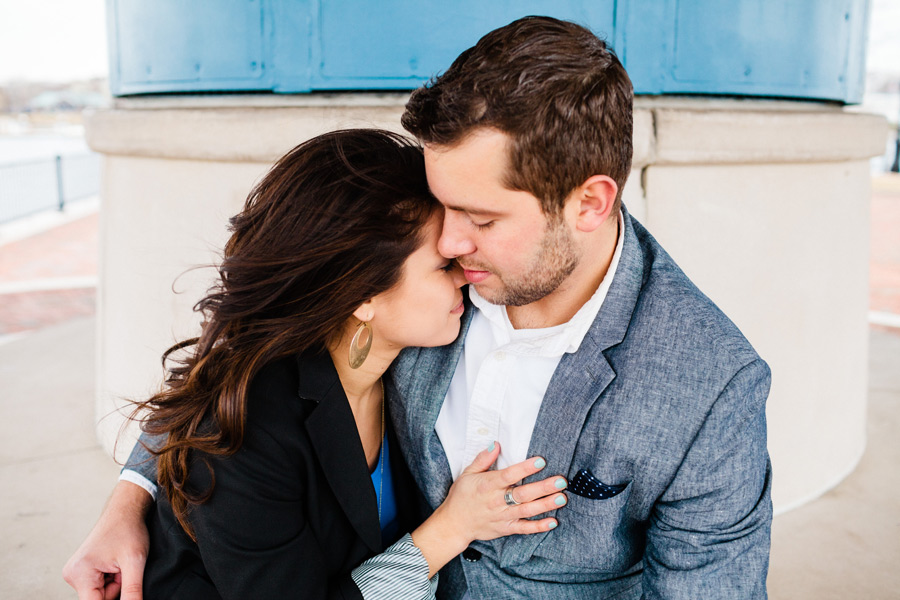 Piers Park waterfront boston engagement photographer