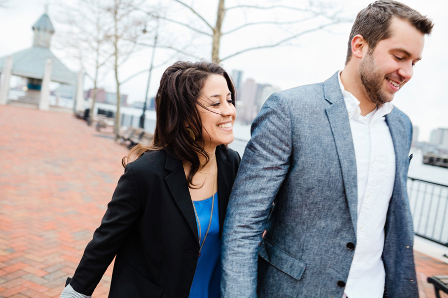 Piers Park waterfront boston engagement photographer engaged