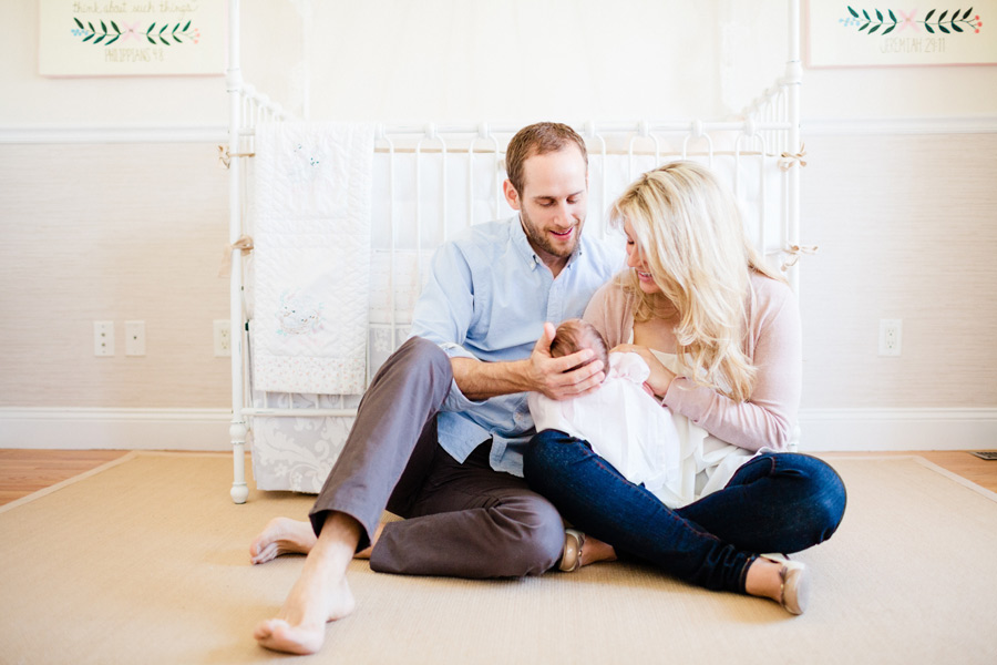 boston lifestyle newborn baby photographer