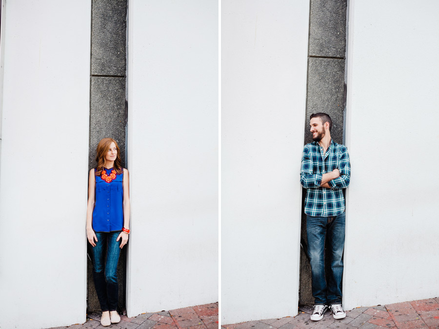 creative charlotte engagement photography
