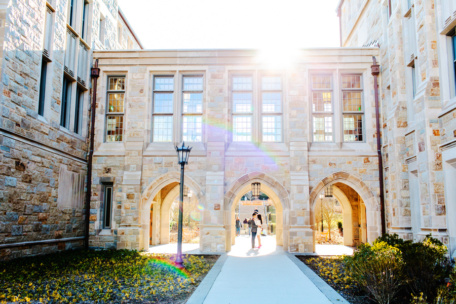 chestnut hill photographer boston college engagement photographer
