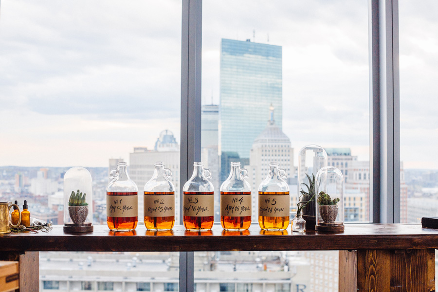 boston skyline photography scotch tasting at the W hotel photography event