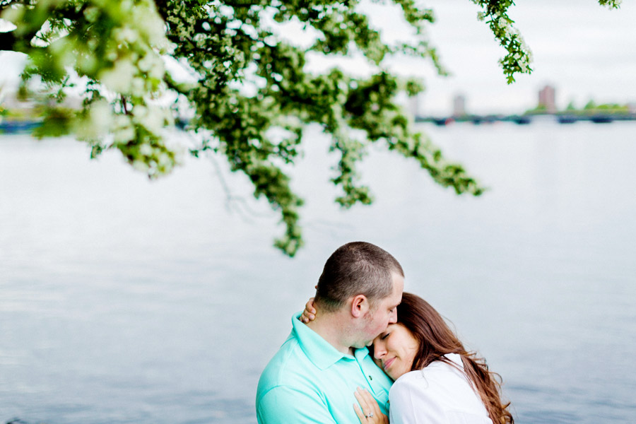 charles river portrait of a married couple boston photographer