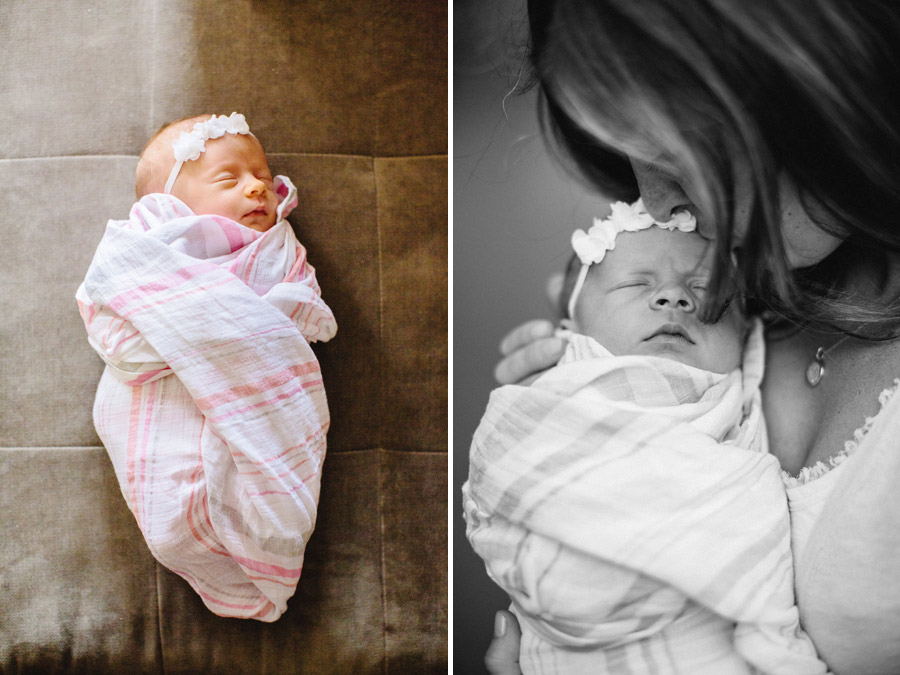 lifestyle boston newborn and family photographer mom and daughter