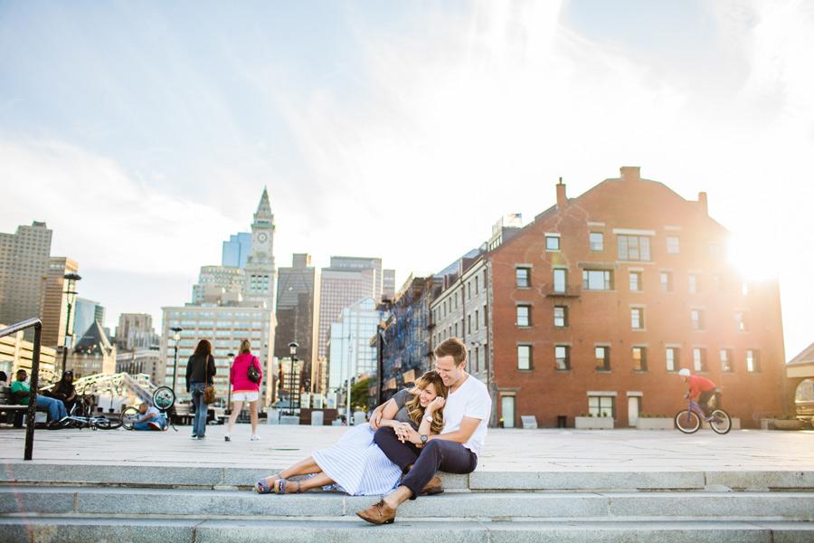 fun lifestyle boston photographer skyline boston
