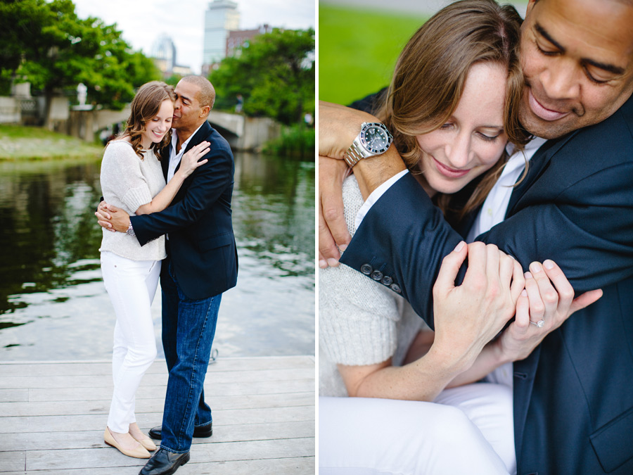 couple in love at the boston esplanade lifestyle photography