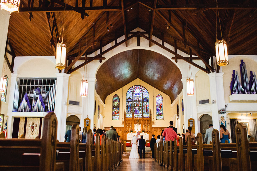 gorgeous church in key west florida to get married in St. Paul's Episcopal Church