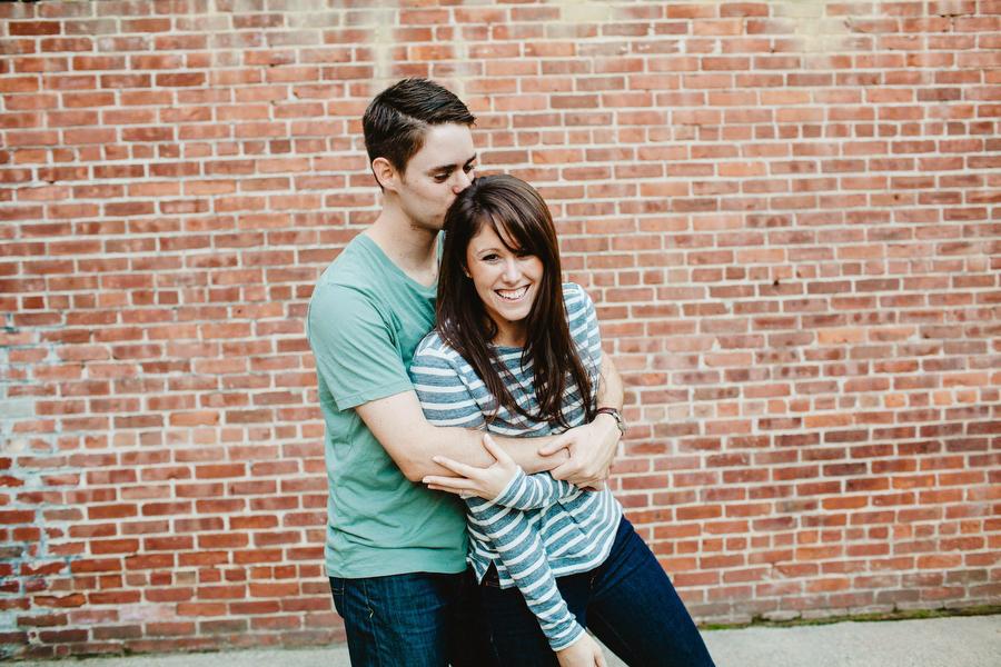 Boston Beacon Hill couple engagement photographer boston photographers
