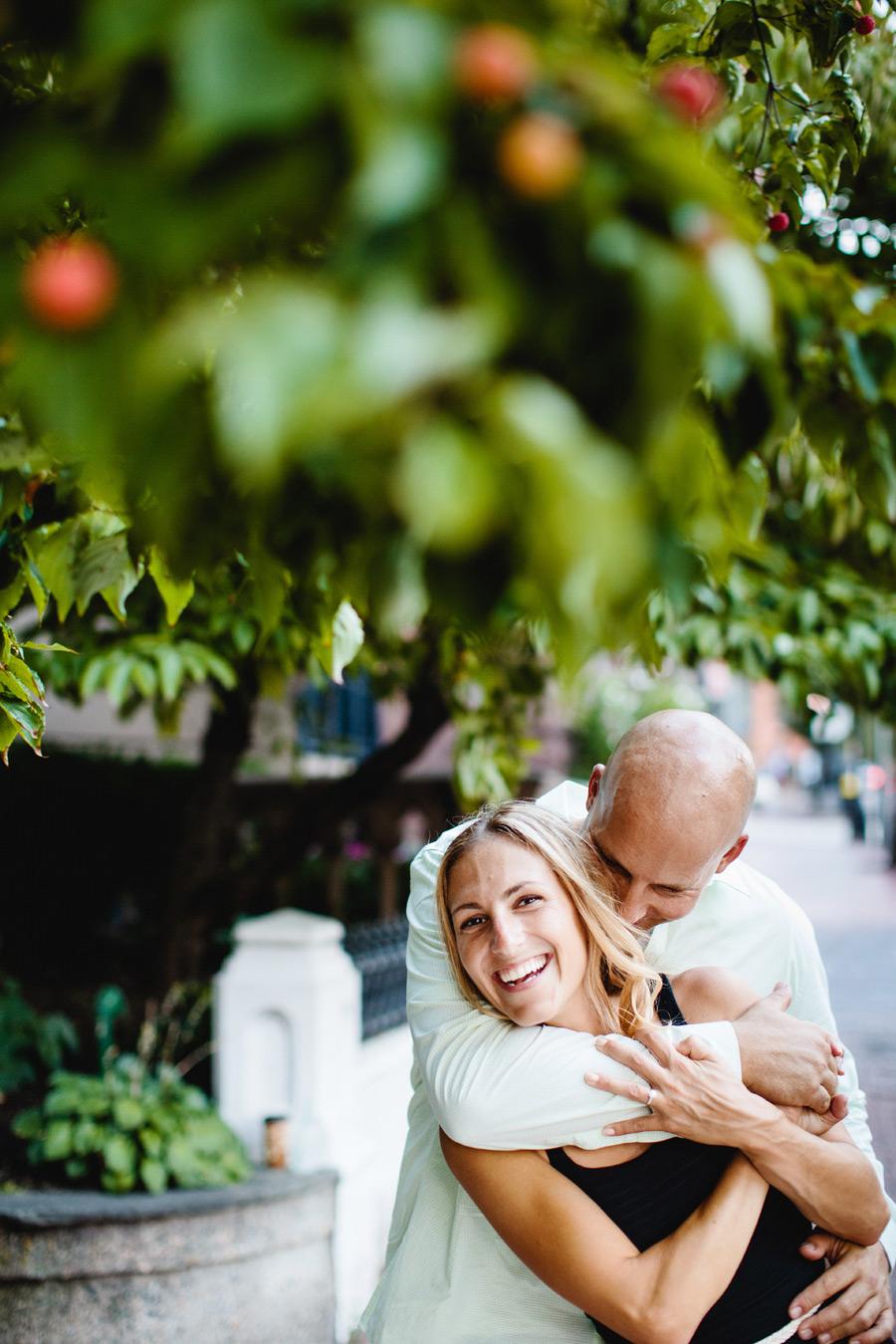 Boston engagement photographers Mikhail Glabets lifestyle couple photography beacon hill