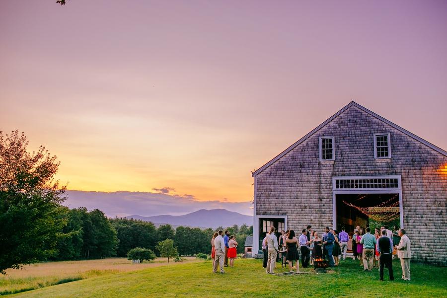 moody mountain farm wedding 073 - barn weddings new england