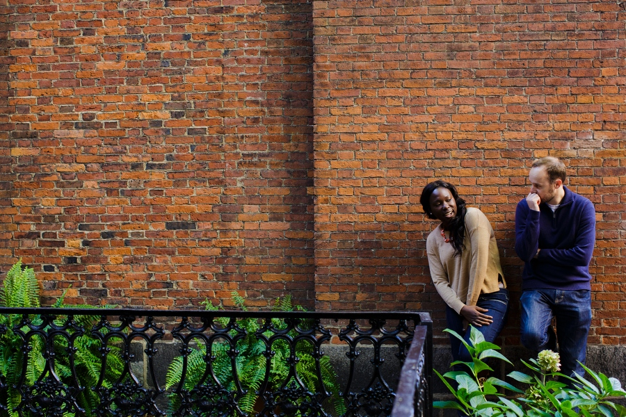 Boston Beacon Hill engagement photographer
