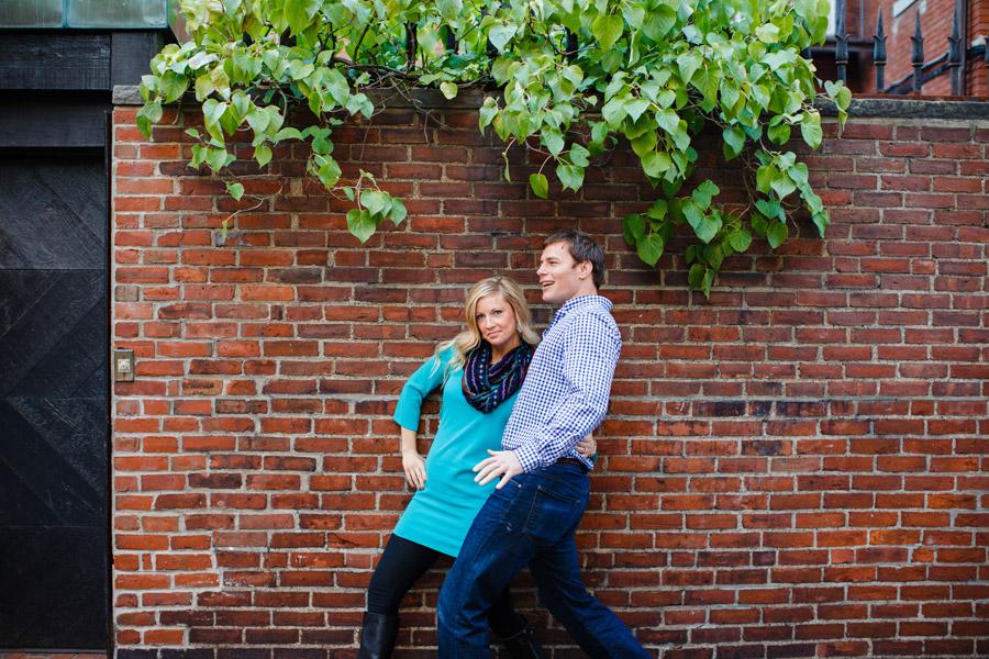Boston top engagement photographers beacon hill couple having fun lifestyle portraits mikhail glabets (1)