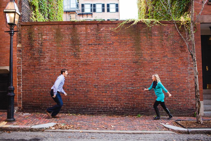 Boston top engagement photographers beacon hill couple having fun lifestyle portraits mikhail glabets (4)