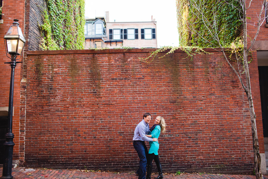 Boston top engagement photographers beacon hill couple having fun lifestyle portraits mikhail glabets (5)