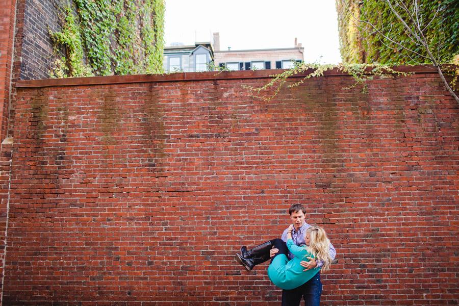 Boston top engagement photographers beacon hill couple having fun lifestyle portraits mikhail glabets (6)