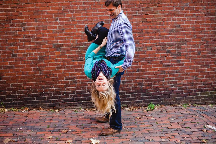 Boston top engagement photographers beacon hill couple having fun lifestyle portraits mikhail glabets (7)