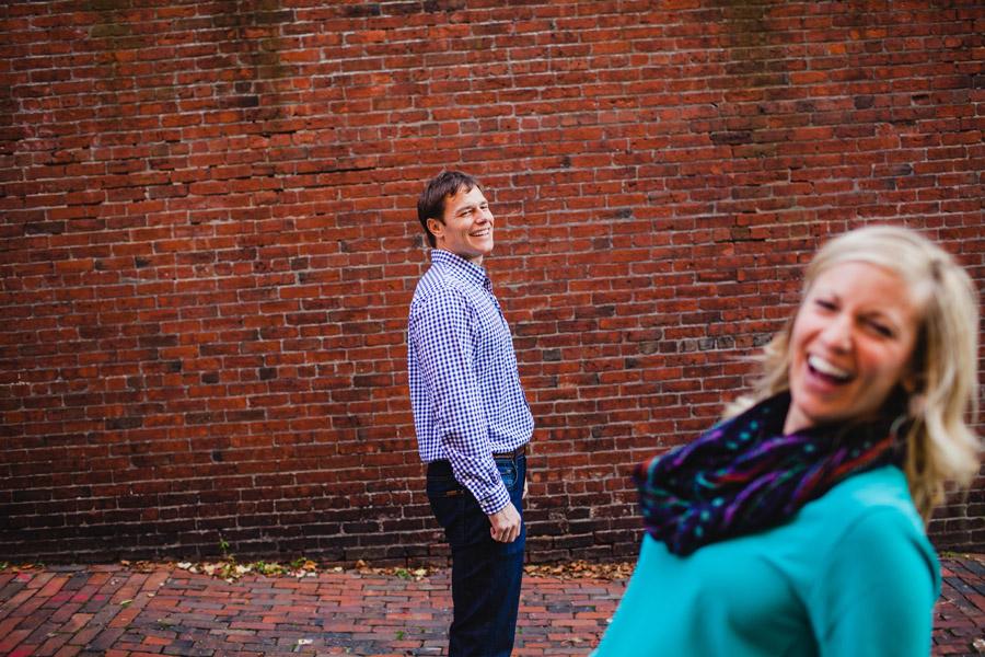 Boston top engagement photographers beacon hill couple having fun lifestyle portraits mikhail glabets (9)