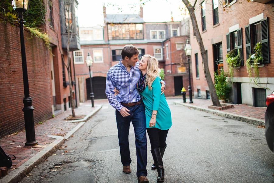 Boston top engagement photographers beacon hill couple having fun lifestyle portraits mikhail glabets (10)