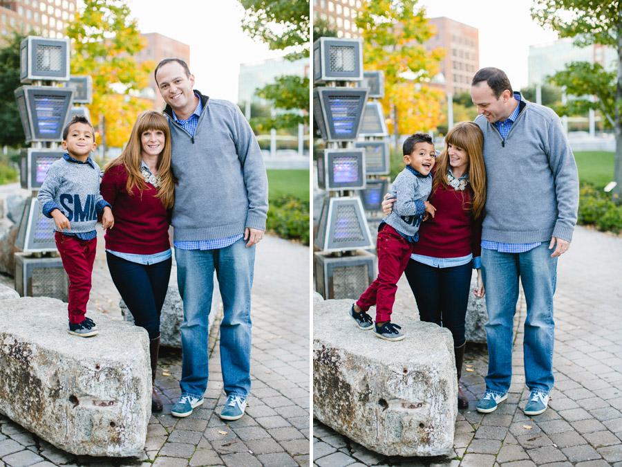 fun boston downtown photography photographer family photos