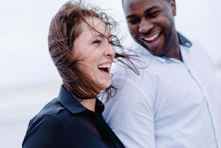 couple having fun at the ritz carlton amelia island in florida