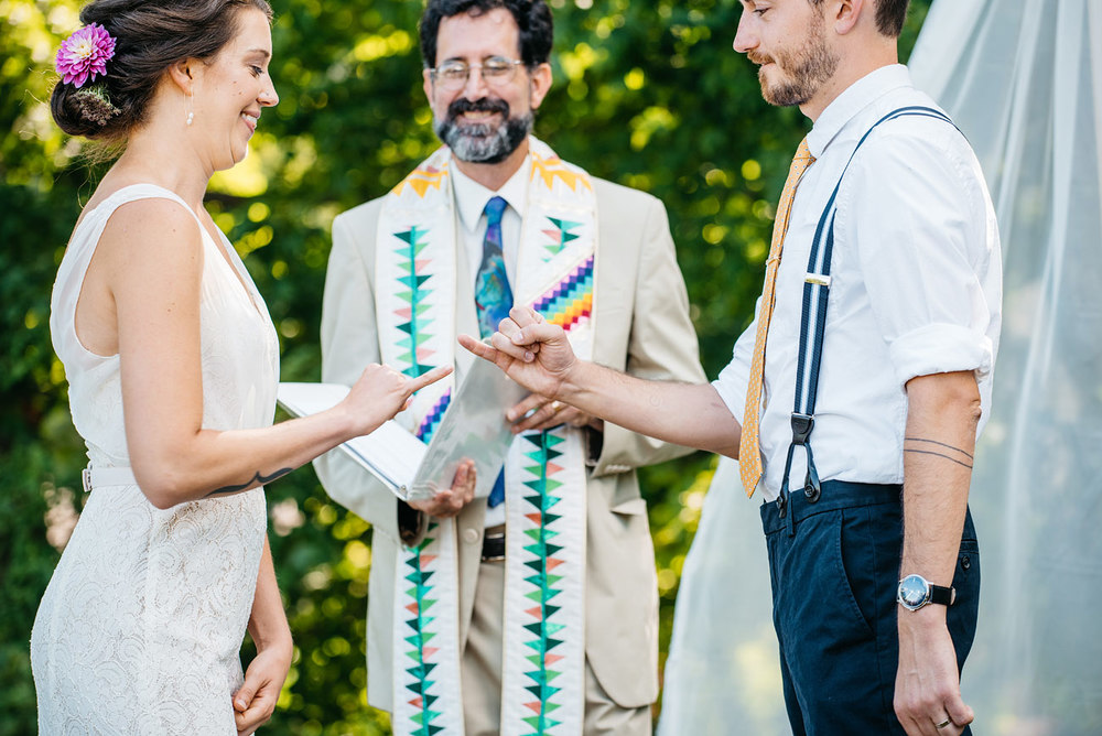 pinky swear sweet moment before the first kiss, new england rustic hipster diy wedding