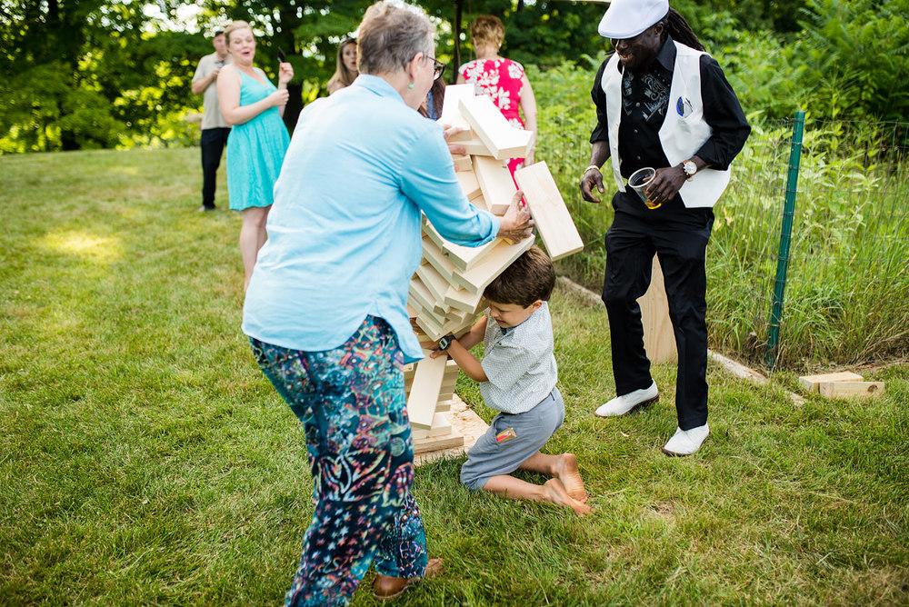 best jenga at weddings diy jenga for backyard weddings