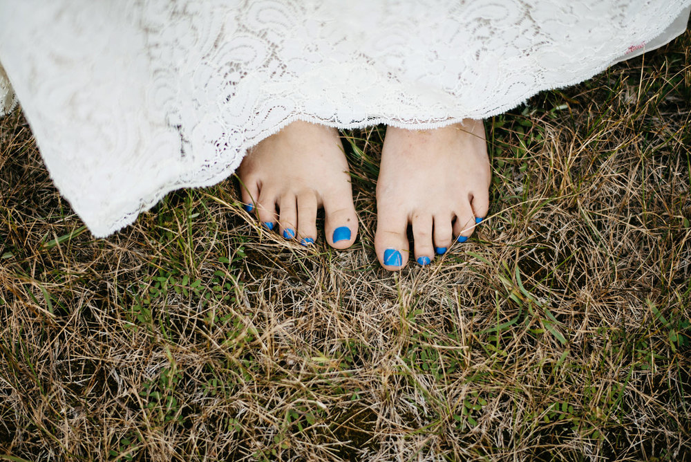barefoot at your wedding bohemian wedding inspiration