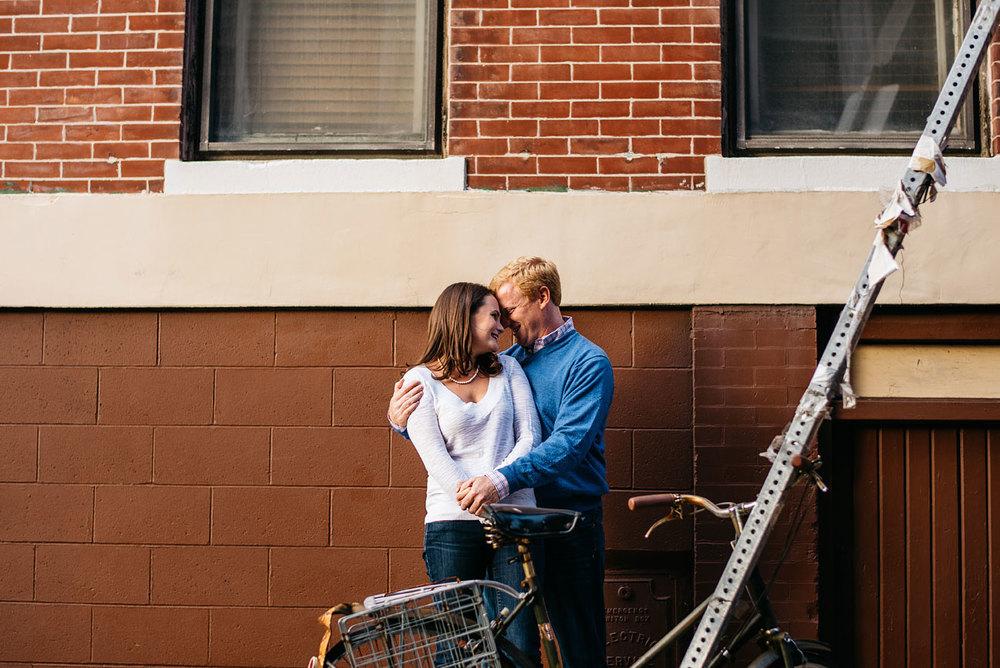 fun and lifestyle boston engagement photos