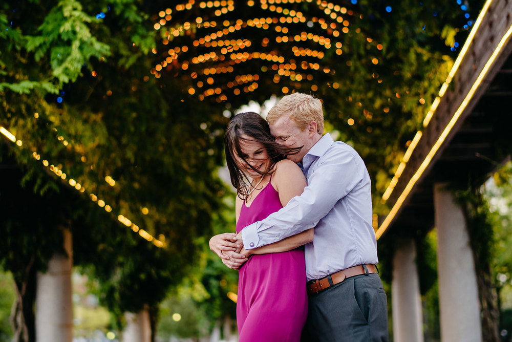 boston seaport engagement photography and lovely couple