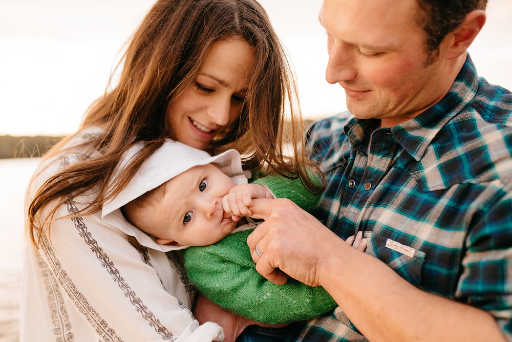 cute baby moment lifestyle baby and boston family photographer