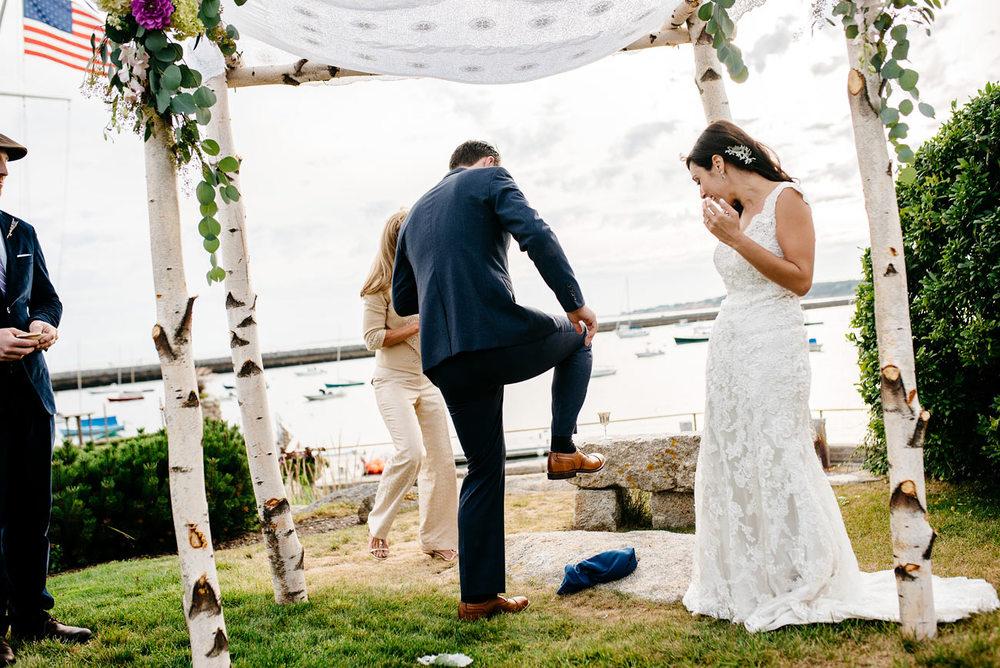 jewish weddings are the best, best of jewish weddings eastern point yacht club in Gloucestor, MA