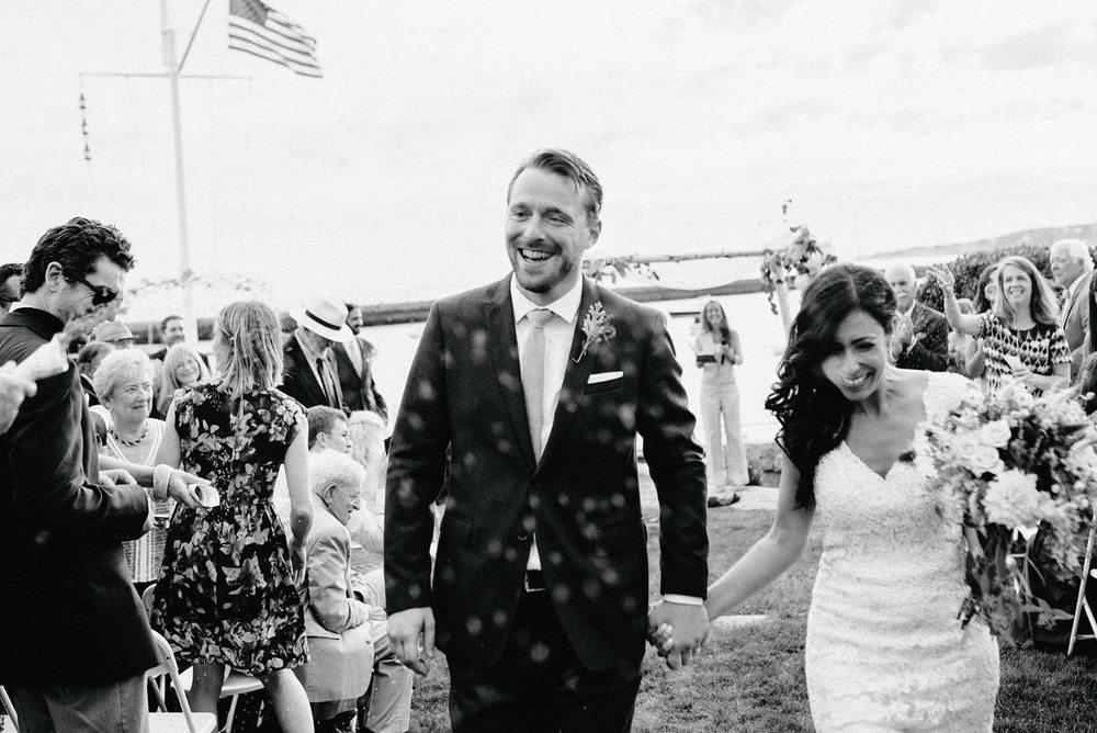 timeless glouster weddings eastern point yacht club in Gloucestor, MA fun and modern outdoor weddings