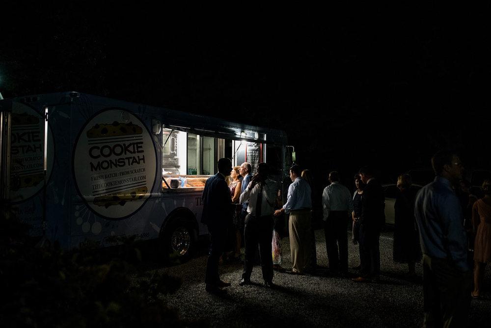 cookie monstah truck at weddings in new england food trucks for weddings in massachusetts