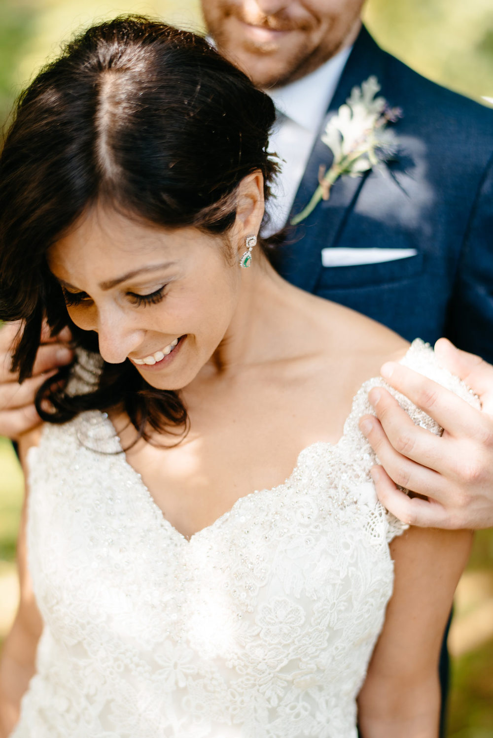 stunning bride and groom portrait at a private estate wedding creative bohemian wedding and bride inspiration eastern point yacht club
