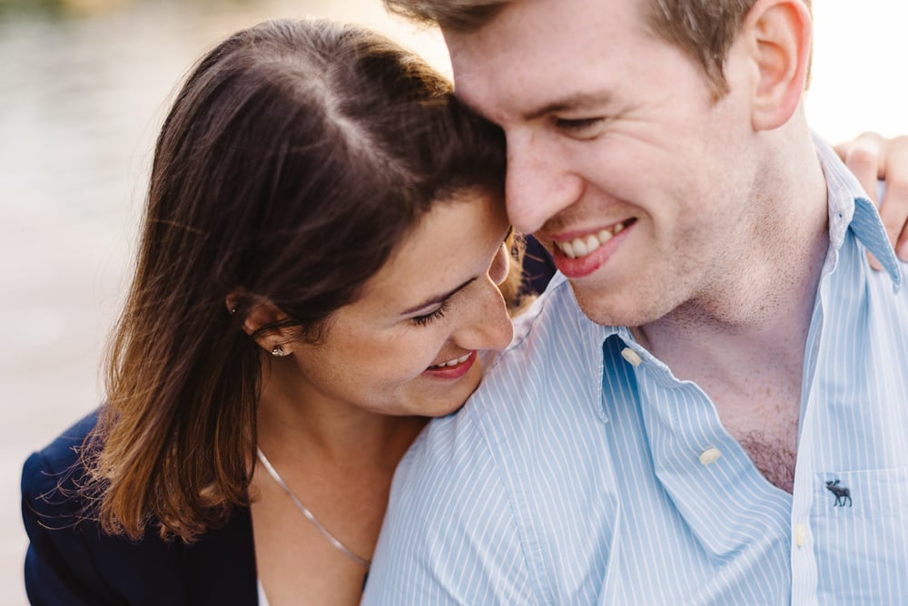 couple in love during their boston engagement session boston photographers where to get engaged