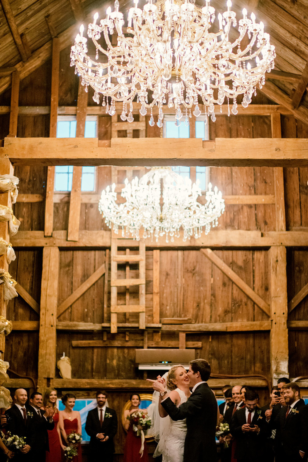first dance at bishop farm, rustic weddings and inspiration