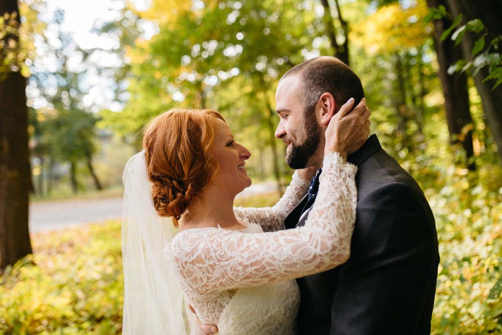 bride and groom wedding portraits aquinas college