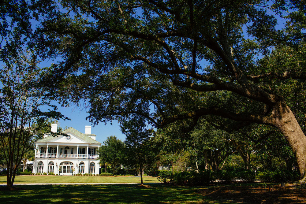 Lowndes Grove Wedding Venue A beautifully restored, National Historic Landmark