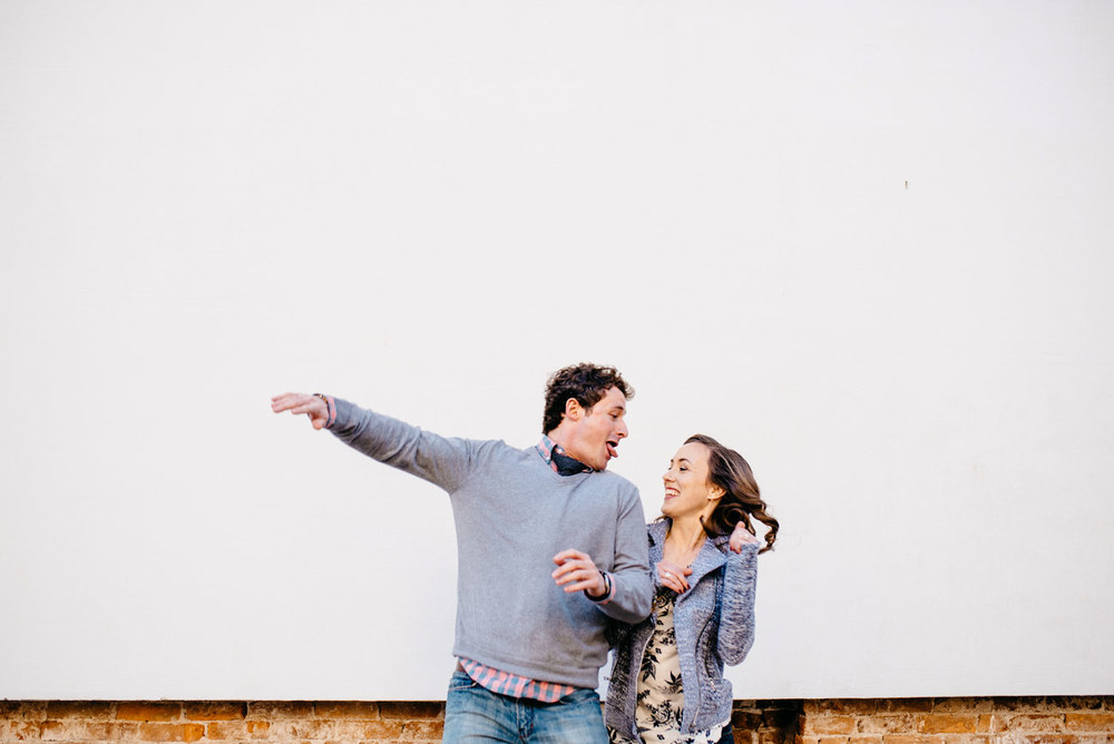 fun lifestyle boston and providence engagement photography